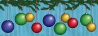 Christmas Ornaments Fine Art Print
