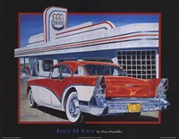 Route 66 Diner Framed Print