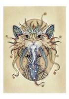 Mog Merlin Fine Art Print
