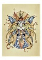 Mog Morgana Le Fay Fine Art Print