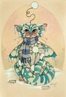 Winter (Snowball) Fine Art Print