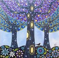 Walnut Orchard Fine Art Print