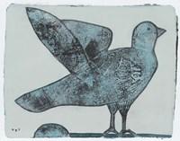 Stoned Pigeon 13 Fine Art Print