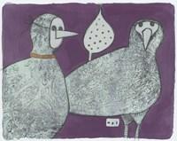 Party Birds, Incognito 11 Fine Art Print