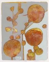 Orange Seed Pods 3 Fine Art Print