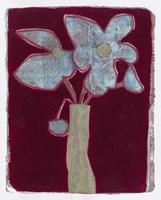Blue Bouquet 8 Fine Art Print