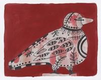 Mardi Gras Bird 19 Fine Art Print
