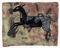 Ethnic Deer Fine Art Print