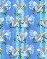 Cockatoos (Pattern) Fine Art Print