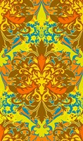 Orange & Yellow (Pattern) Fine Art Print