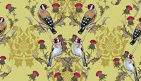 Goldfinches (Pattern) Fine Art Print