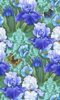 Irises (Pattern) Fine Art Print