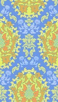 Blue & Yellow (Pattern) Fine Art Print