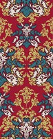 Blue & Red (Pattern) Fine Art Print