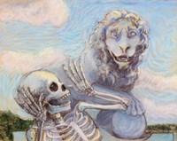 Ahh! Scary! Fine Art Print