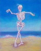 Skelly Dancer I Fine Art Print