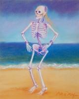 Skelly Dancer II Fine Art Print
