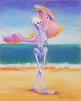 Skelly Dancer III Fine Art Print