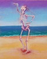 Skelly Dancer IV Fine Art Print
