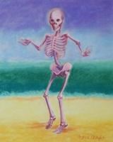 Skelly Dancer V Fine Art Print
