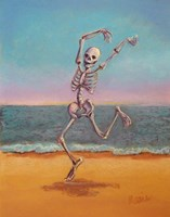 Skelly Dancer VIII Fine Art Print