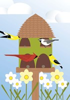 Bird Feeder Fine Art Print
