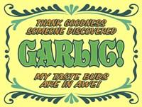 Discover Garlic Fine Art Print