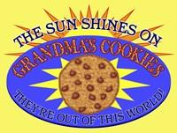Grandma's Cookies Fine Art Print