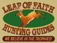 Leap Of Faith Hunting Fine Art Print