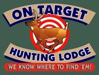 On Target Hunting Lodge Fine Art Print