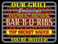 Our Grill Ribs Fine Art Print