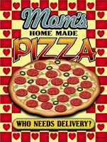 Mom's Pizza Fine Art Print
