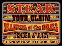 Steak Your Claim Fine Art Print