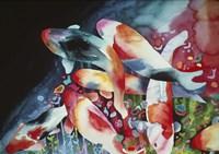 Cosmic Fish Fine Art Print