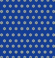 Star Of David Fine Art Print