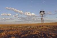 South Leunberger Windmill At Sunset Fine Art Print