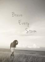 Brave Every Storm Fine Art Print
