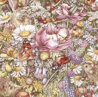 Flower Babies Fine Art Print