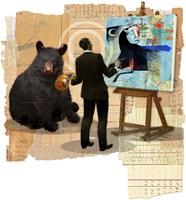 Bull Spin Fine Art Print