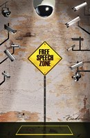 Speech Zone Fine Art Print