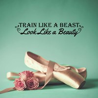 Train Like A Beast Color Fine Art Print