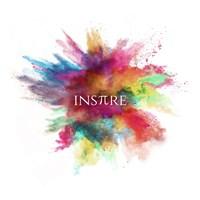 Inspire Powder Explosion Rainbow Fine Art Print