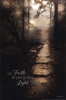 Let Faith be Your Guiding Light Fine Art Print