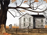 Harvest Time House Fine Art Print