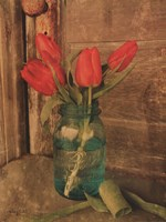 Country Tulips Fine Art Print