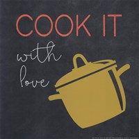 Cook It With Love Fine Art Print