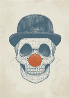 Dead Clown Fine Art Print