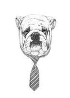 Bulldog Fine Art Print