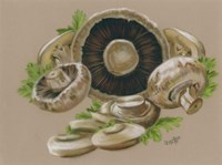 Mushrooms Fine Art Print
