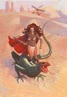 Desert Warrior Fine Art Print